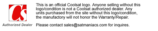 Coolsat Authorized Dealer Logo